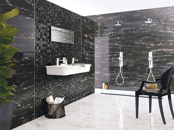 Cool-porcelanosa-mosaic-ceramic-wall-port-black-luxury-spain-tile-for-modern-bathroom-black-and-white-bathroom-design-and-decoration
