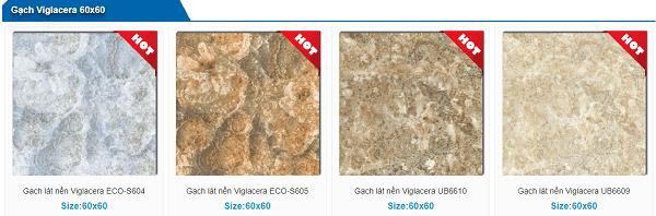 Gạch lát nền viglacera 60x60 chính hãng - Giá Tốt