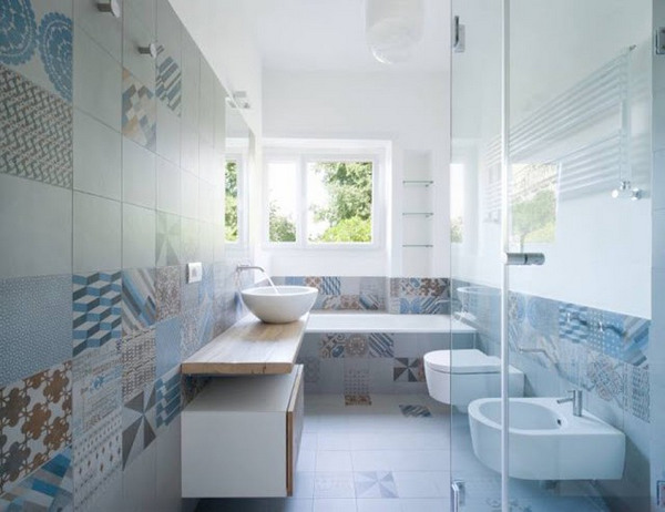 Bí quyết chọn mẫu gạch ốp tường nhà tắm đẹp bạn cần biết 13