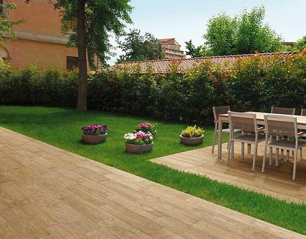 Lựa chọn gạch lát nền giả gỗ phù hợp với từng không gian 5