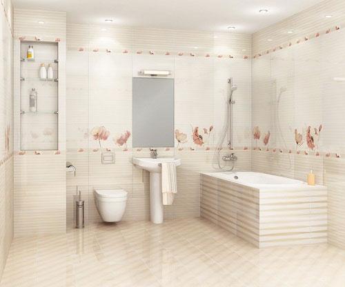 Cách tính gạch ốp nhà vệ sinh