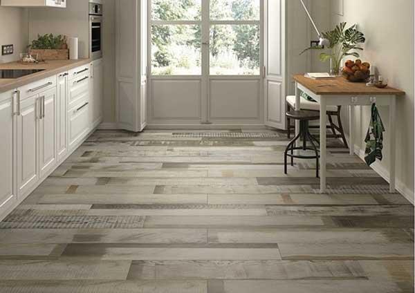 Lựa chọn gạch lát nền giả gỗ phù hợp với từng không gian 3
