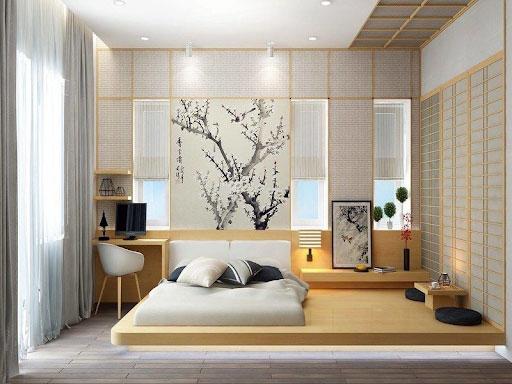 Các mẫu phòng ngủ kiểu Nhật đẹp không thể bỏ qua 2