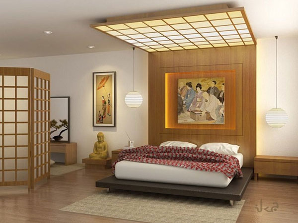 Các mẫu phòng ngủ kiểu Nhật đẹp không thể bỏ qua 3