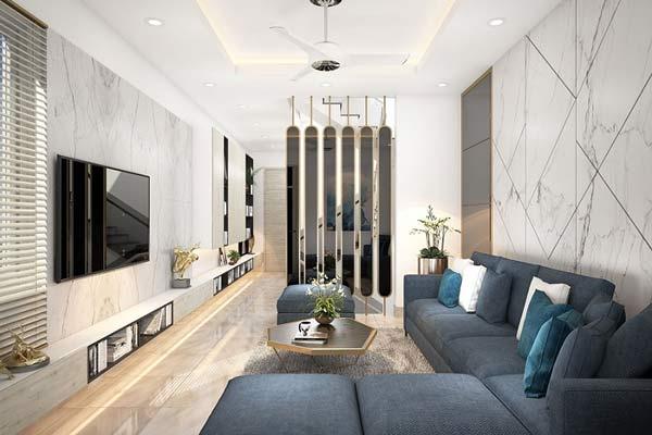 Phòng khách nhà ống và những thiết kế CỰC ẤN TƯỢNG 1