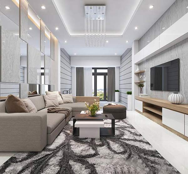 Phòng khách nhà ống và những thiết kế CỰC ẤN TƯỢNG 2