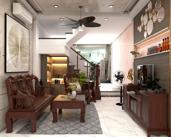 Phòng khách nhà ống và những thiết kế CỰC ẤN TƯỢNG 5
