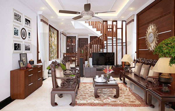 Phòng khách nhà ống và những thiết kế CỰC ẤN TƯỢNG 6
