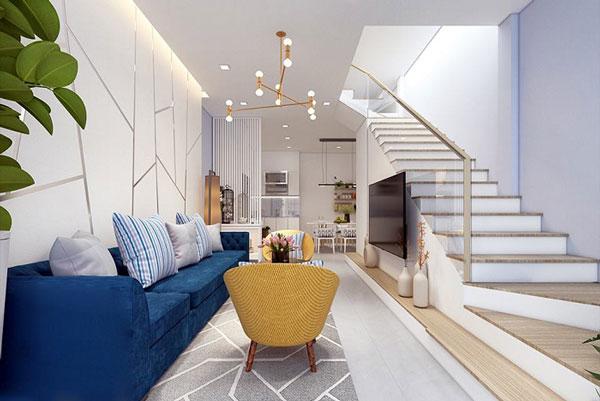 Phòng khách nhà ống và những thiết kế CỰC ẤN TƯỢNG 7